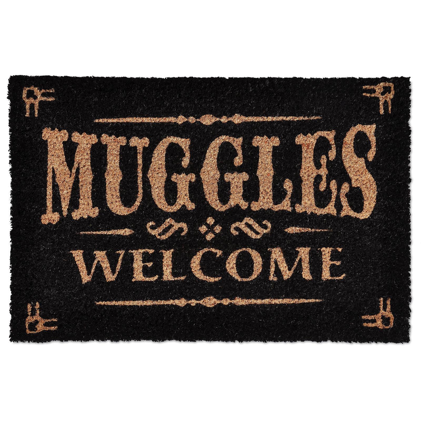 Harry Potter - Muggles Welcome Fußmatte