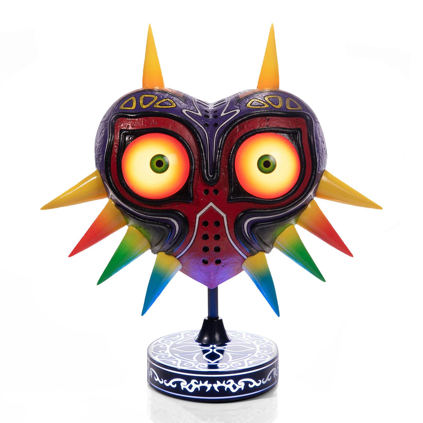 Zelda - Majora's Mask Statue mit Licht