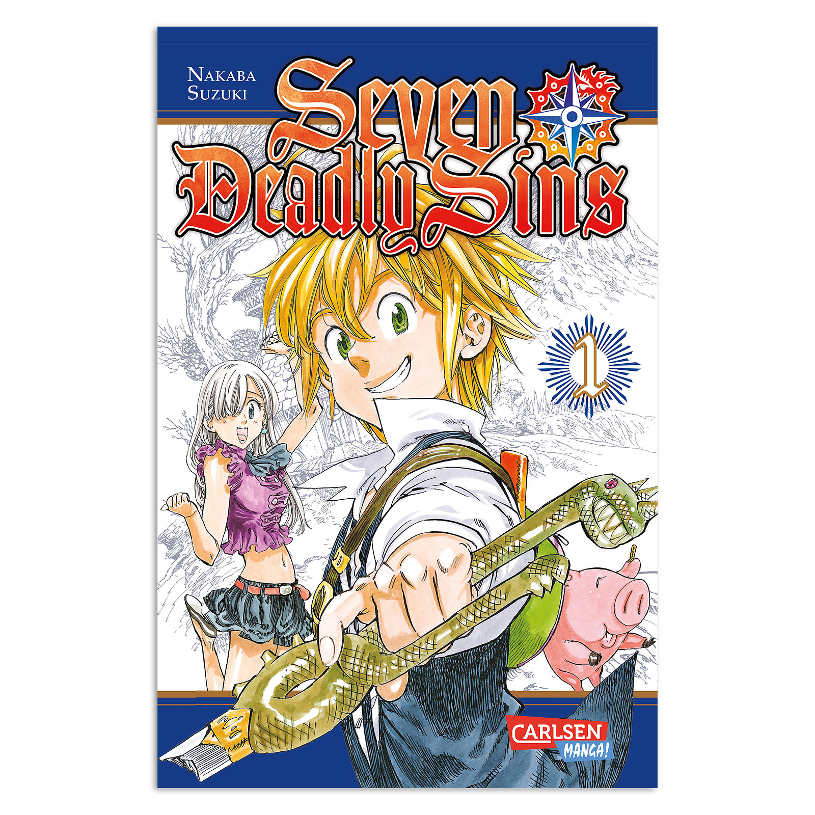 Seven Deadly Sins - Band 1 Taschenbuch