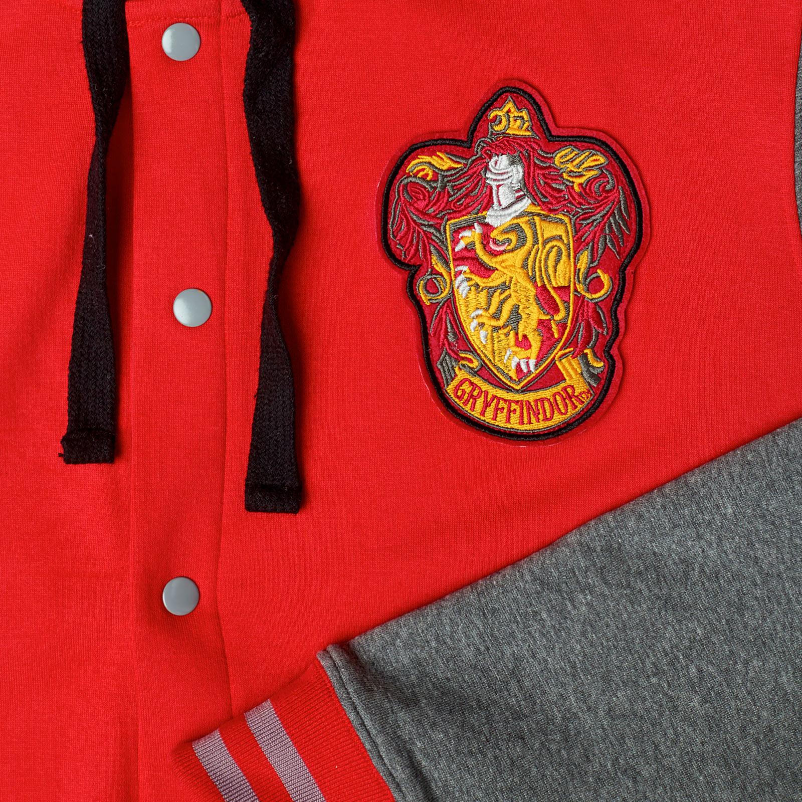 Harry Potter - Gryffindor College Jacke mit Kapuze