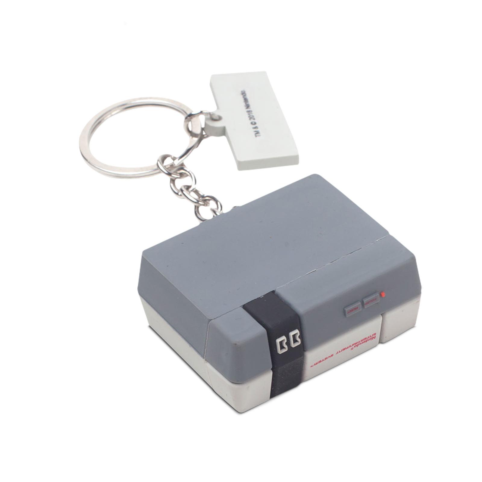 Nintendo - NES Konsole und Controller Schlüsselanhänger