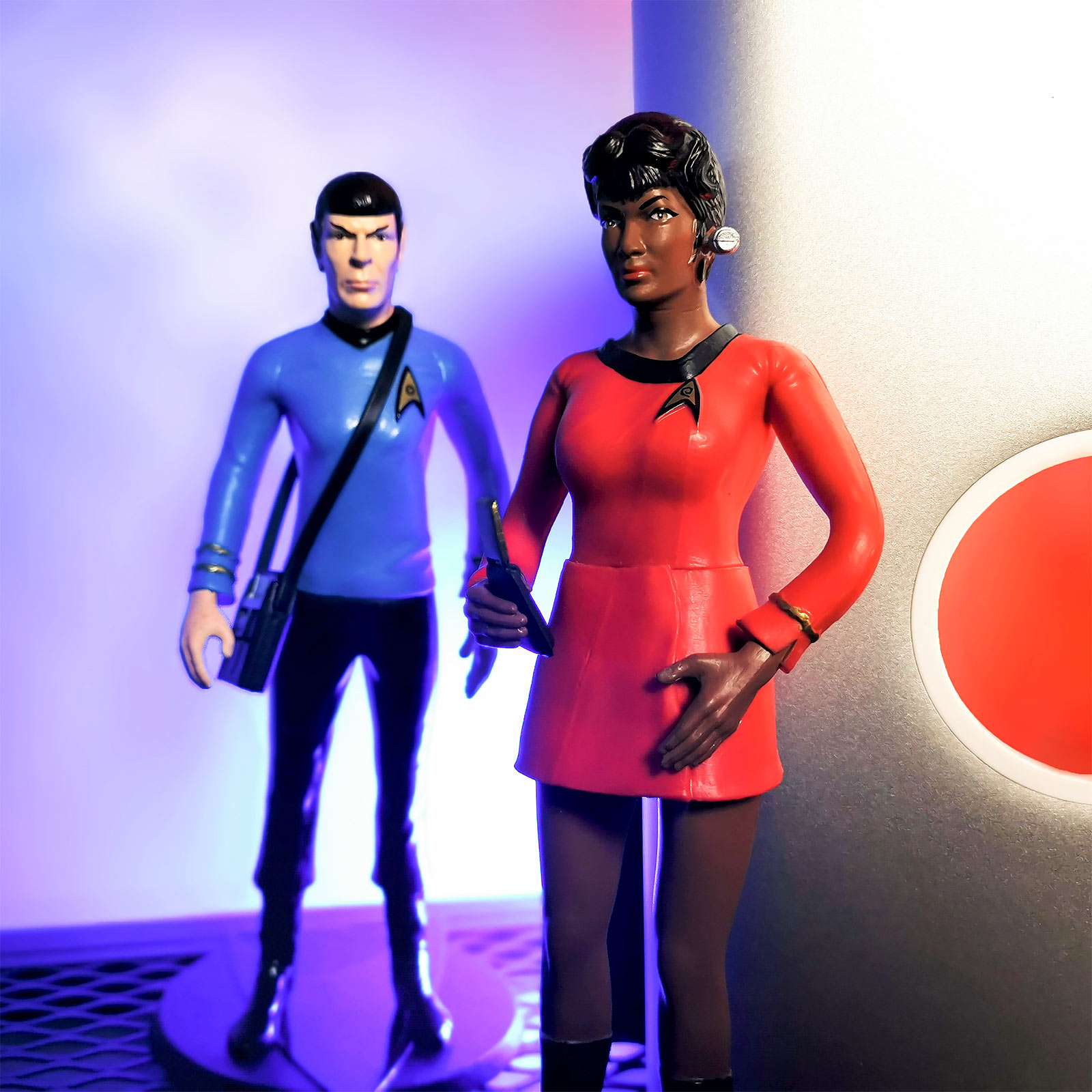 Star Trek - Uhura Bendyfigs Figur 18 cm