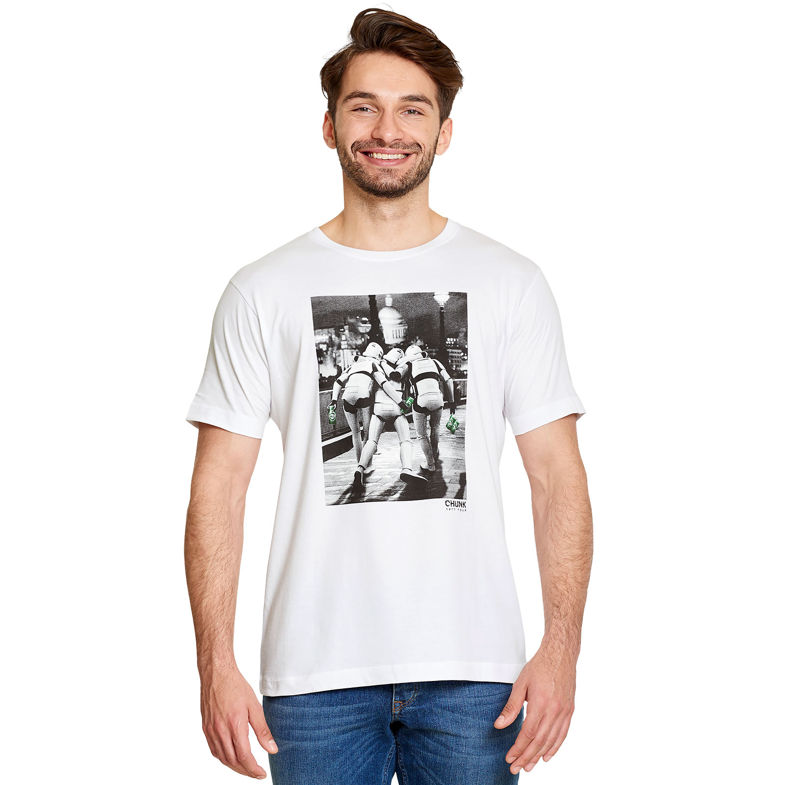Imperial Fighters at Night T-Shirt für Star Wars Fans