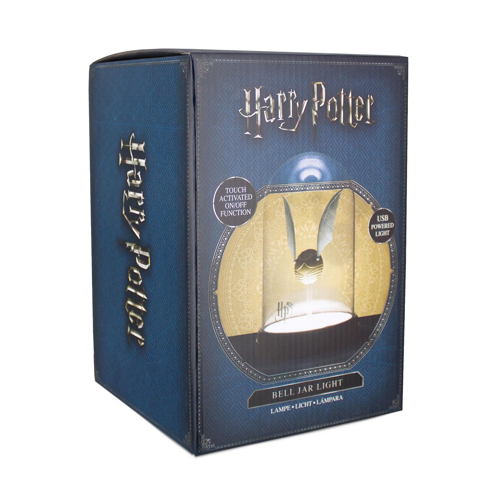 Harry Potter - Goldener Schnatz Tischlampe