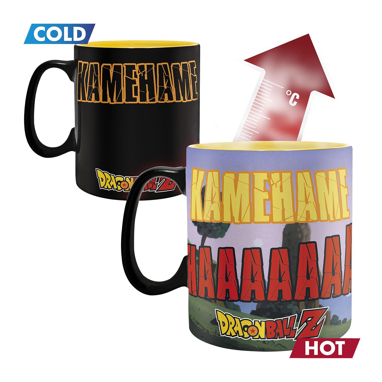 Dragon Ball Z - Kamehameha Thermoeffekt Tasse