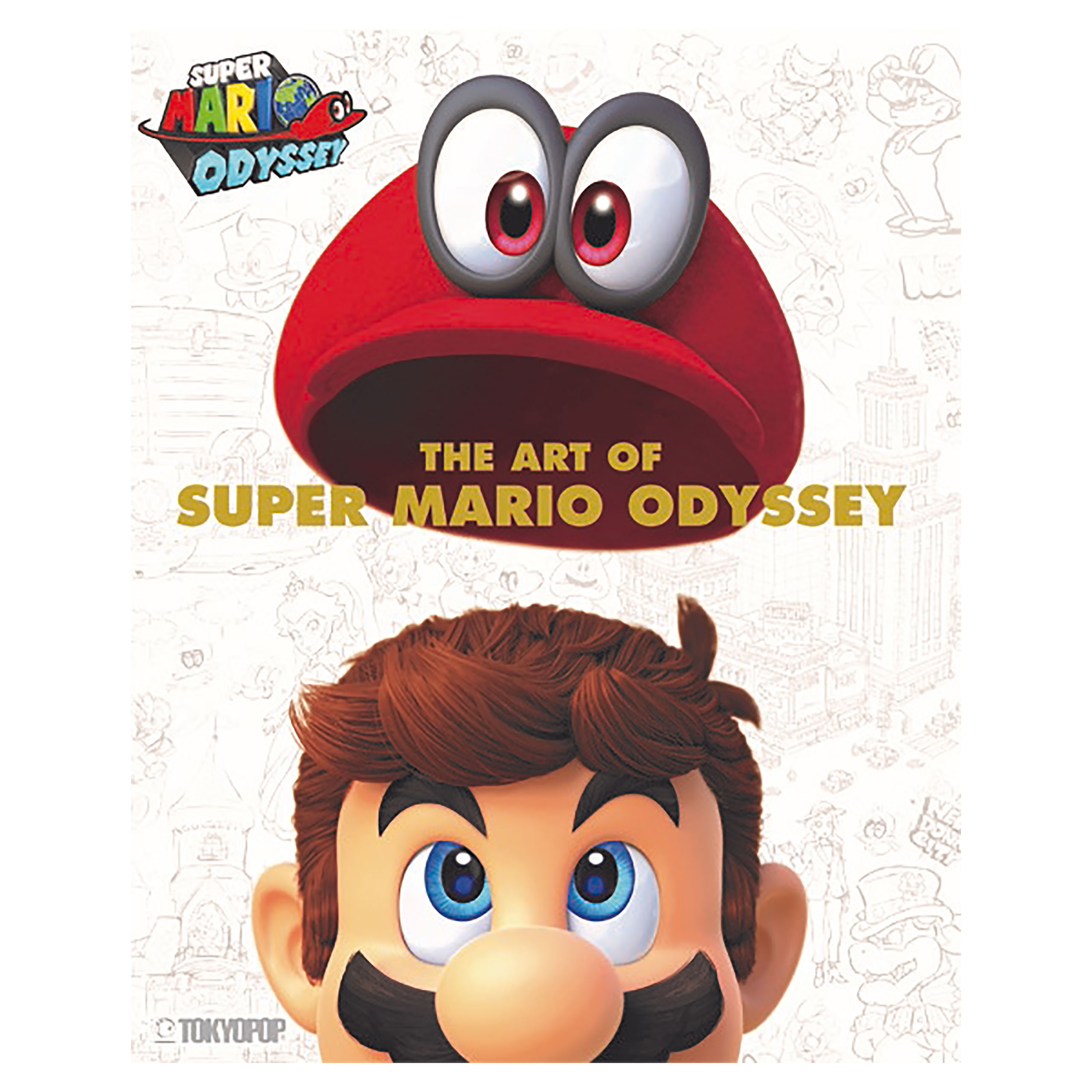 Super Mario - The Art of Super Mario Odyssey