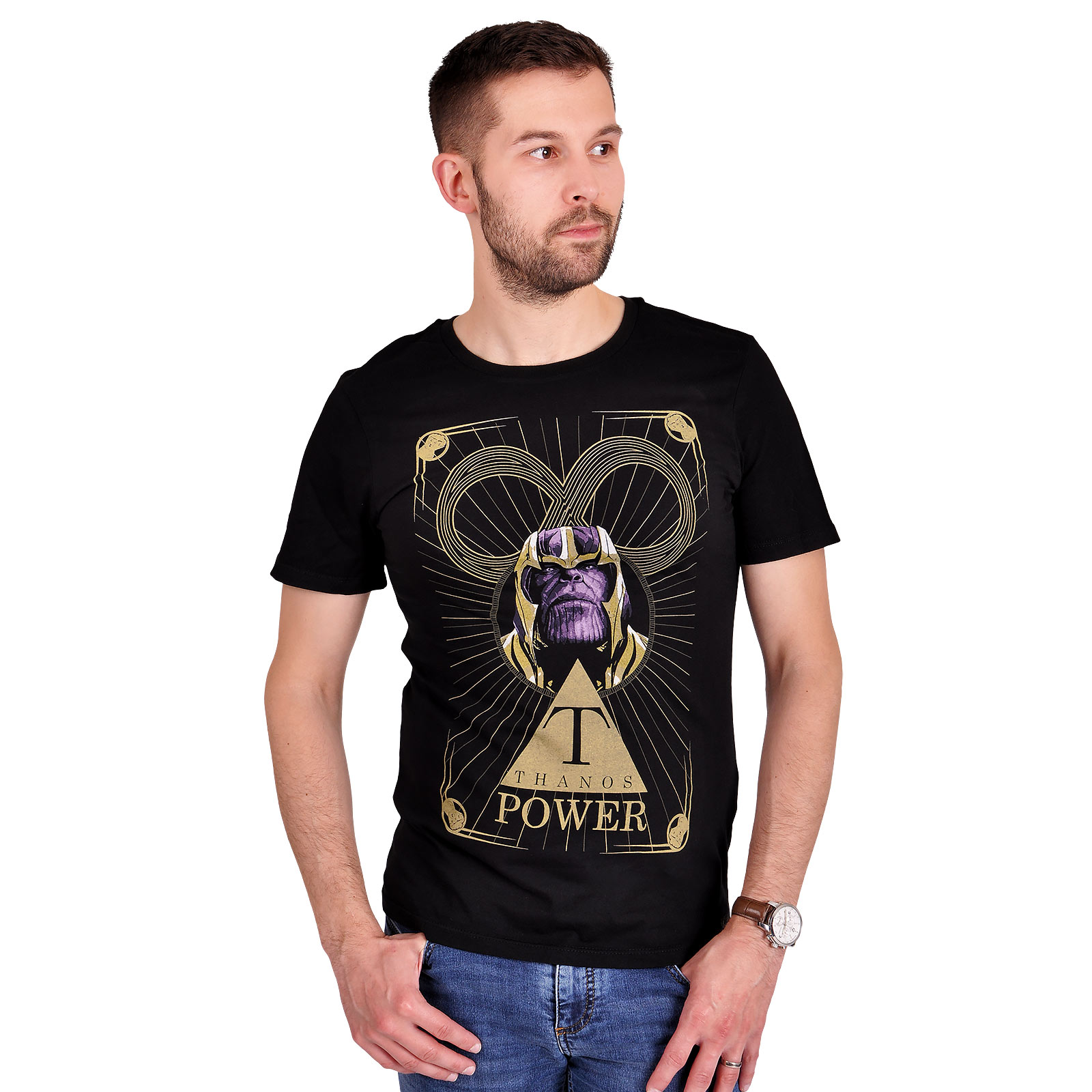 Avengers - Thanos Power T-Shirt schwarz