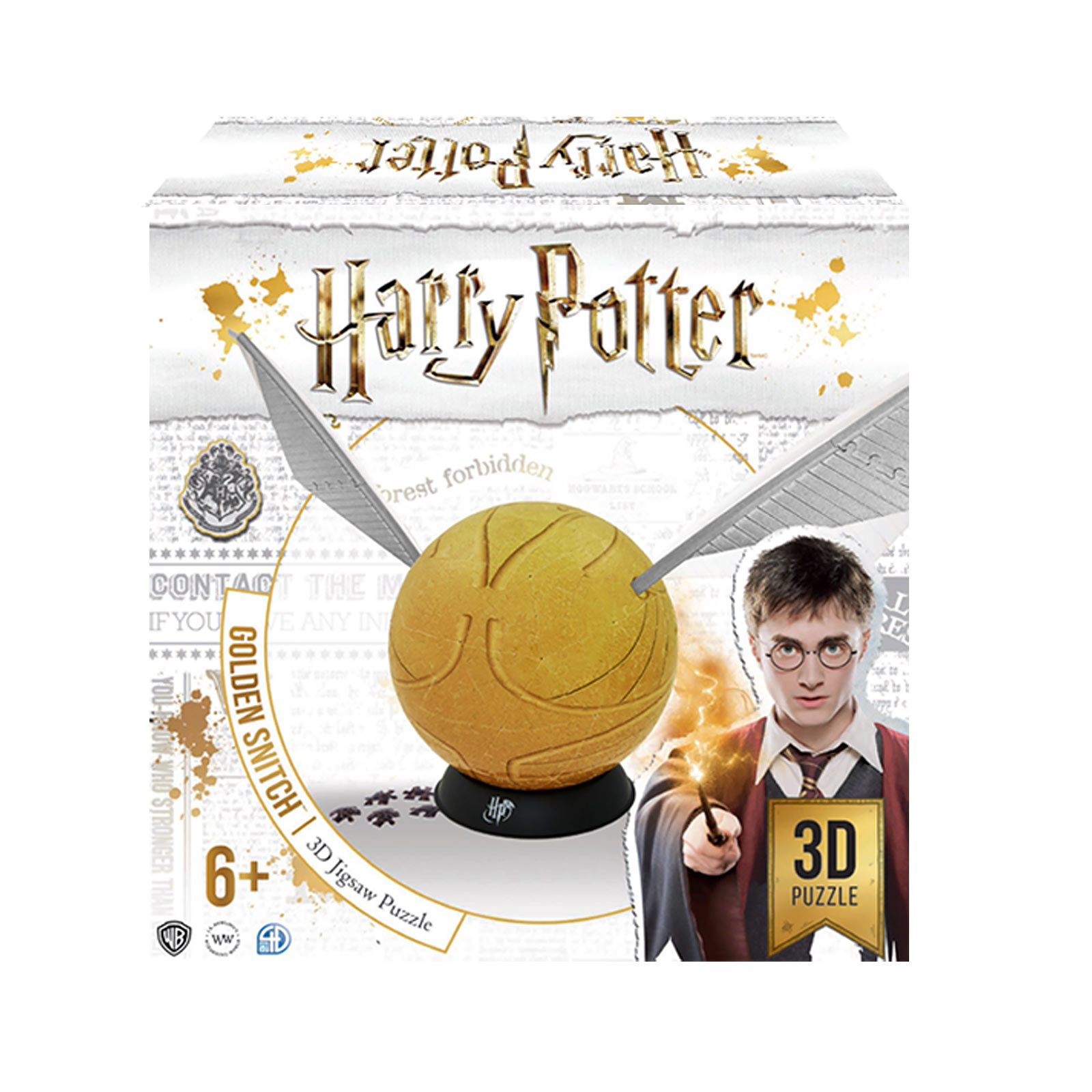 Harry Potter - Goldener Schnatz 3D Puzzle