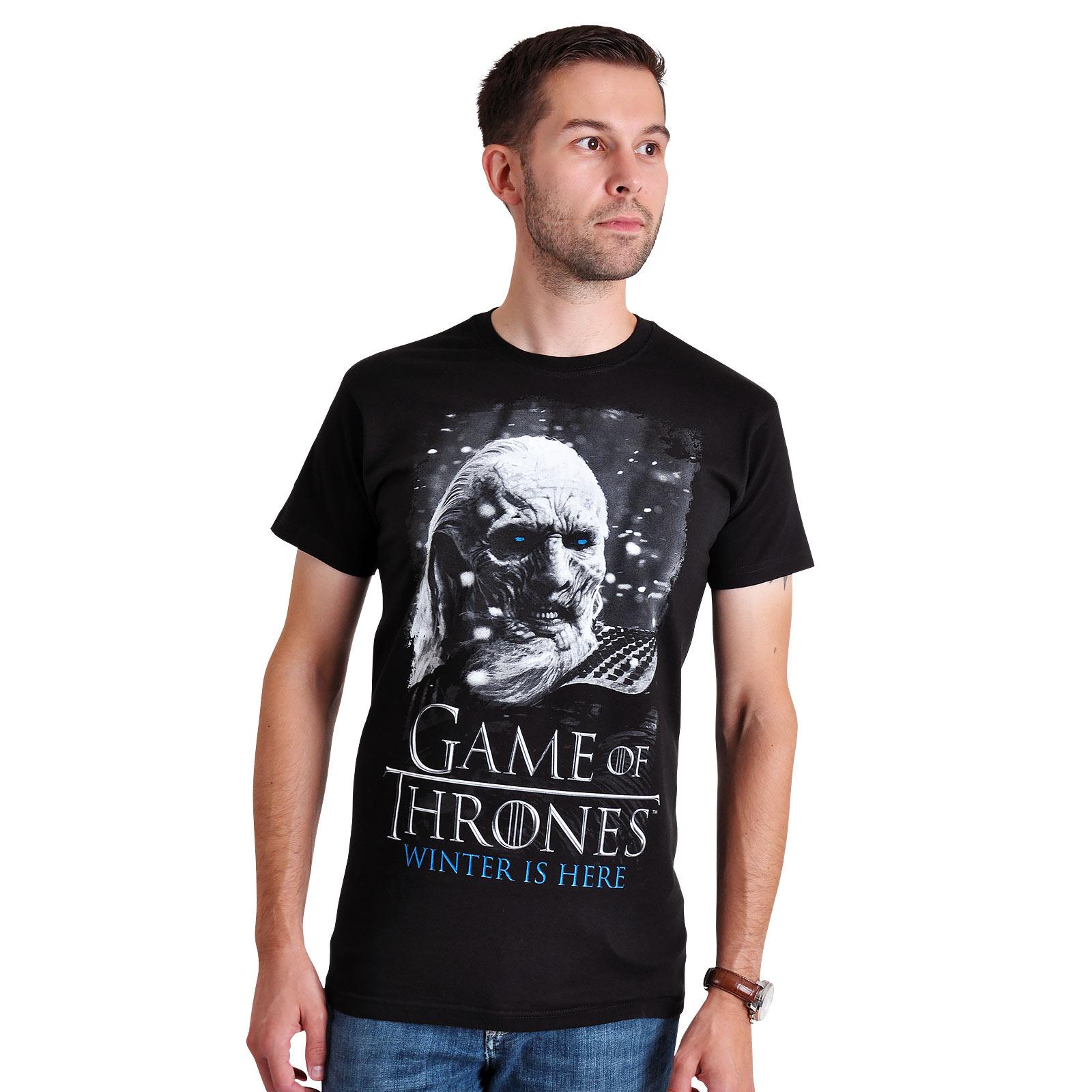 Game of Thrones - White Walker T-Shirt schwarz