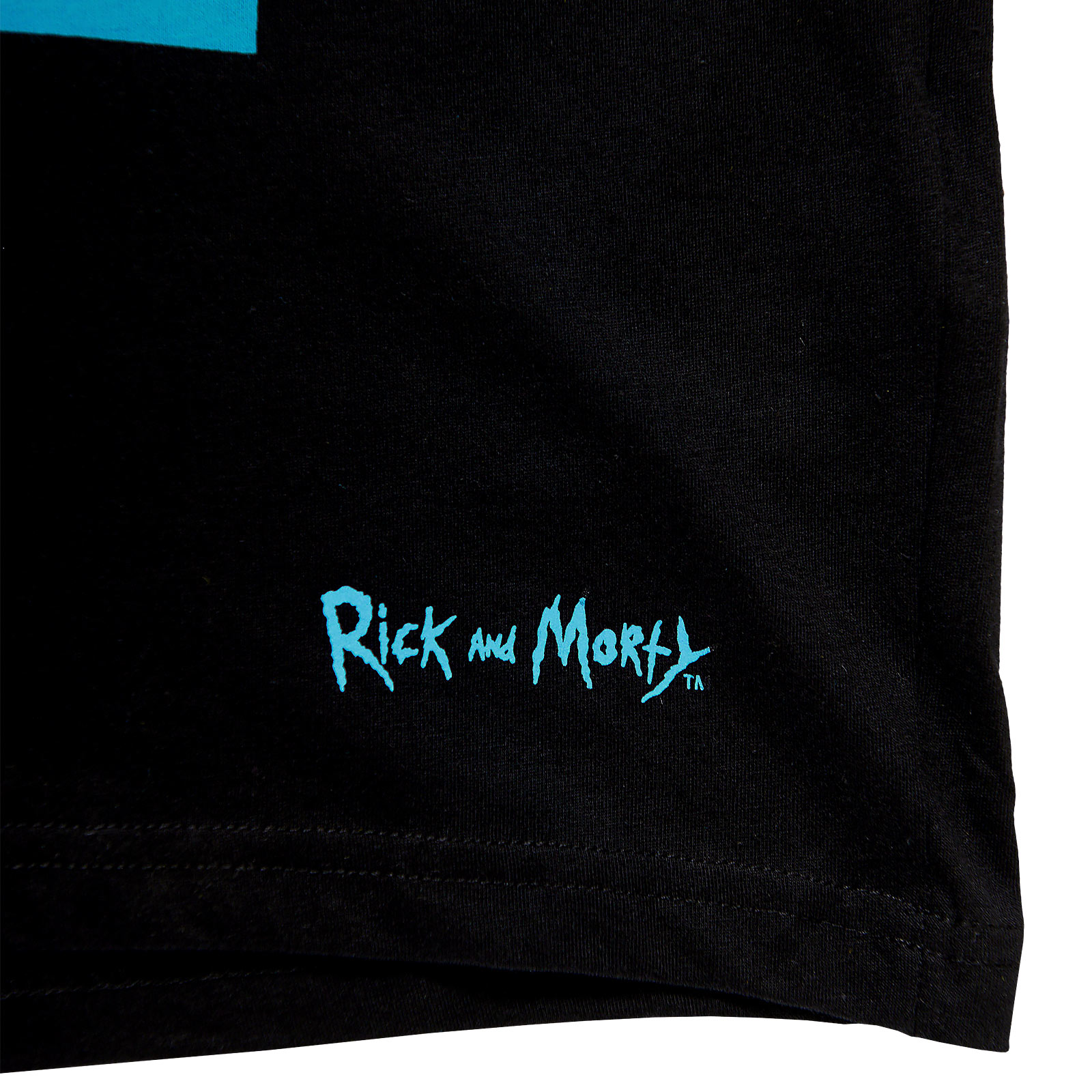 Rick and Morty - Low Hanging Banana T-Shirt schwarz