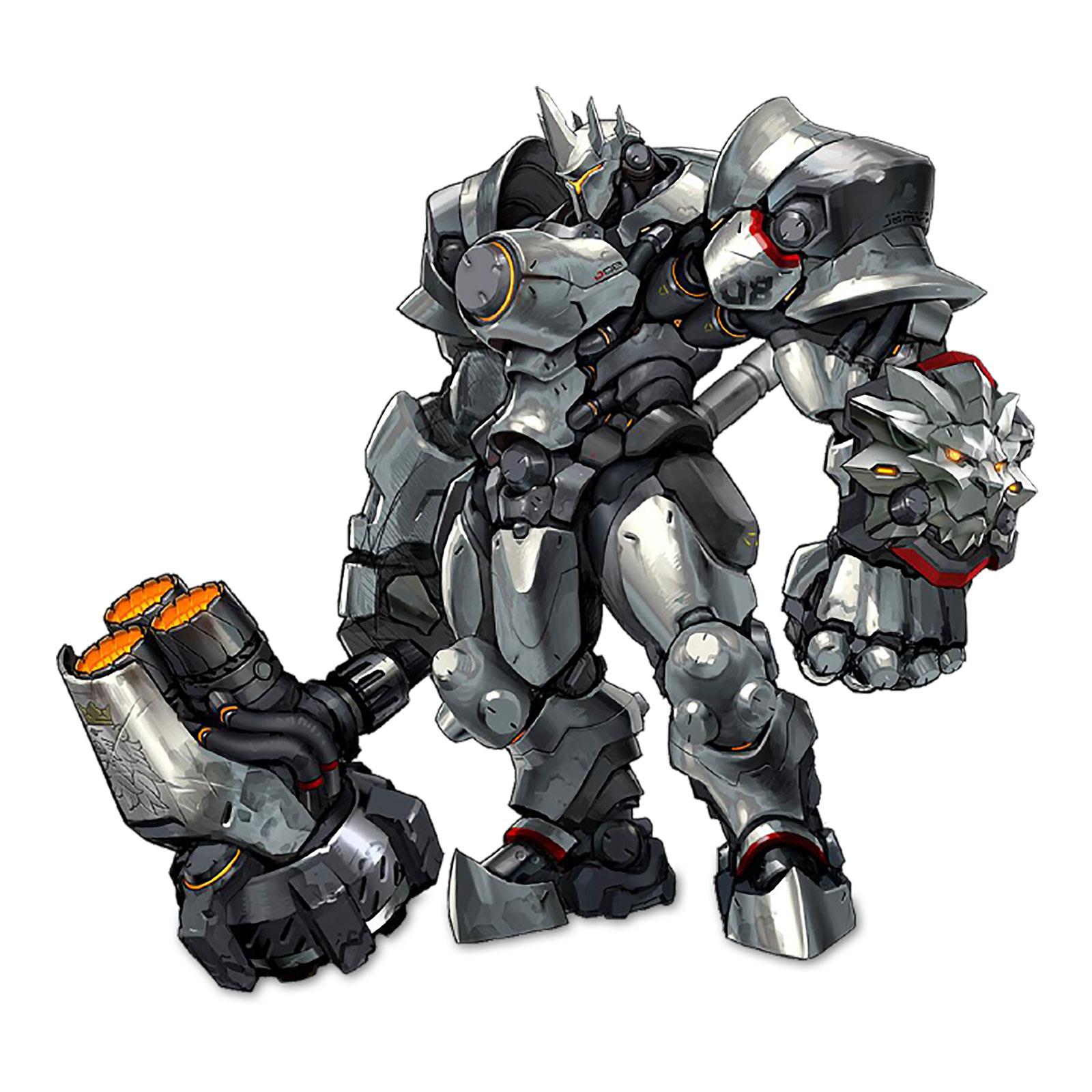 Overwatch - Reinhardt Cute But Deadly Figur