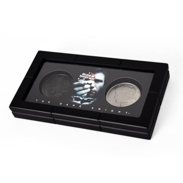 The Dark Knight - Harvey Dent und Two Face Münzen