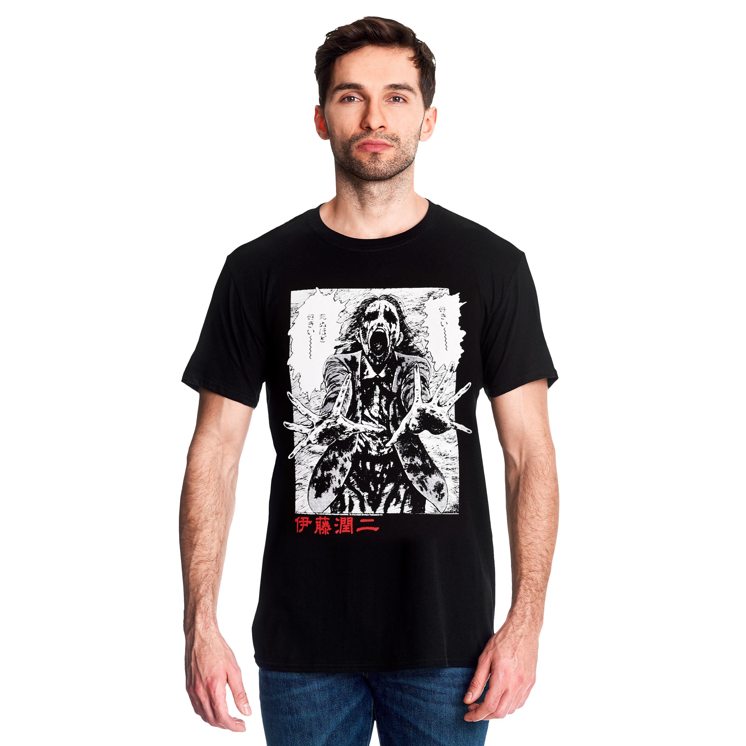 Junji Ito - Ghoul T-Shirt schwarz
